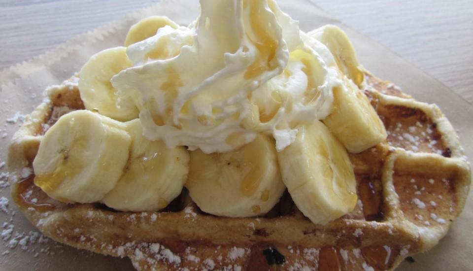 Banoffee Pie Waffle or Strawboffee Pie Waffle?